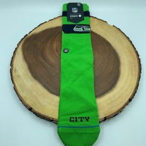 Stance Emerald City Mens Socks Sz 9-12.5